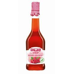 Polska Róża Syrop Różano-Malinowy 500 ml