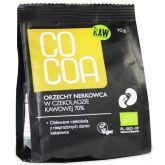 Cocoa Orzechy Nerkowca w surowej czeko BIO 70g