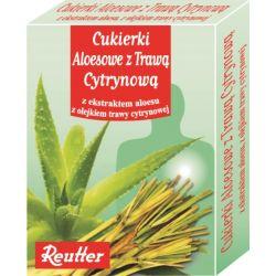 Reutter Cukierki Aloesowe z Trawą Cytrynową