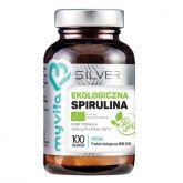 Myvita Silver Spirulina 100% Bio 100 proszek