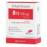 Starpharma Vitaminum B12 100 µg Strong 30 kapsułek