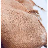 Deccares Szal z wełny z jedwabiem Beetle Pink