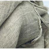 Deccares Szal Lniany Burnt Grey