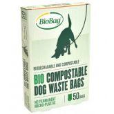 BioBag Worki Na Psie Odchody bidegradowalne 40 szt