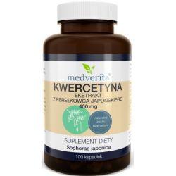 Medverita Kwercetyna 400 mg 100 kapsułek